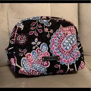 Vera Bradley Alpine Floral makeup bag